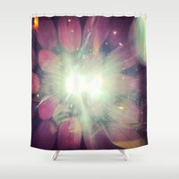 bokeh Shower Curtains featuring bokeh by Love Improchori
