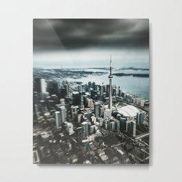 toronto city view Metal Print