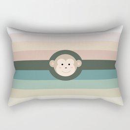 Monkey Rectangular Pillow