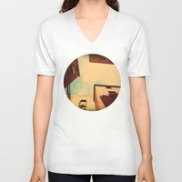 spain V-neck T-shirts featuring Spain by Emma.B