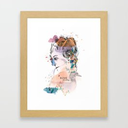 Mountain Head Framed Art Print