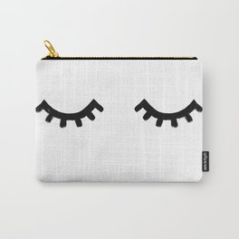 eyelashes Carry-All Pouch