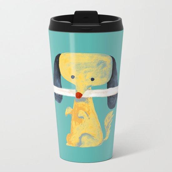 Lucky dog Metal Travel Mug