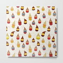 Gnome pattern 1d Metal Print