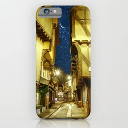 Starry Night in York Shambles  iPhone Case