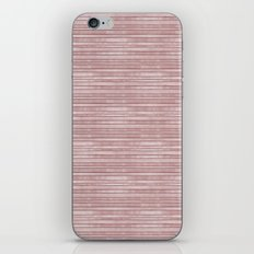 Chic Pink Stripes iPhone & iPod Skin
