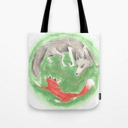 Epa, the Fox King 4 Tote Bag