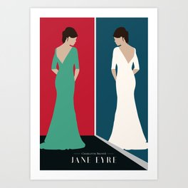 JANE EYRE DESIGN Art Print