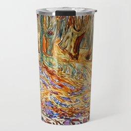 Edvard Munch - Elm Forest in Spring Travel Mug