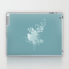 Flower Bird Laptop & iPad Skin
