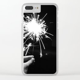 Sparkler Clear iPhone Case