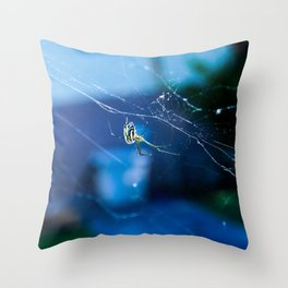 Creepy Crawly Throw Pillow