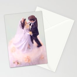 Bride and Groom - bridal shower gift or wedding gift Stationery Cards