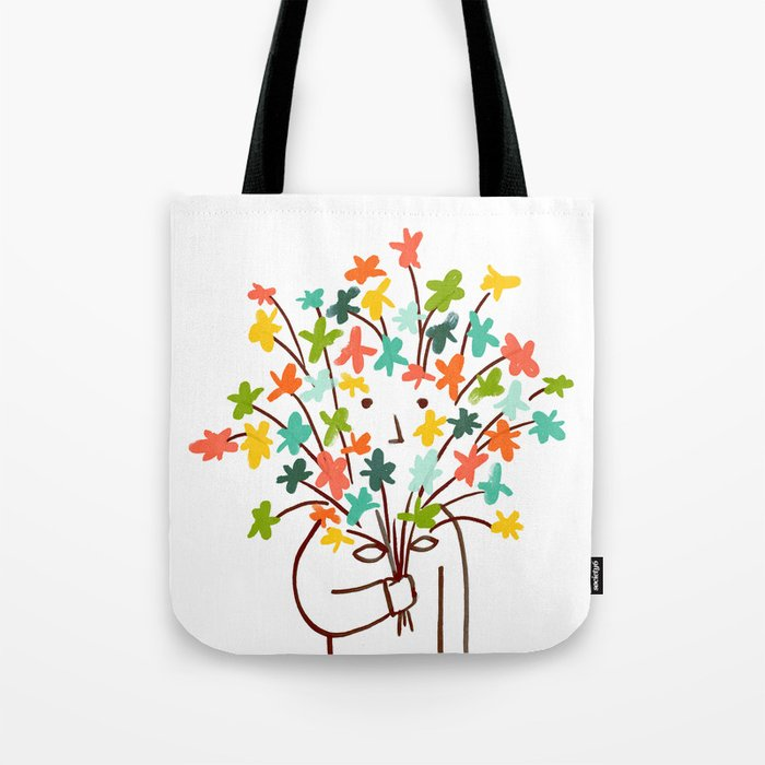 I bring flowers Tote Bag
