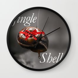 Jingle Shells Wall Clock