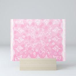 Tiny Dancers (Pink) Mini Art Print