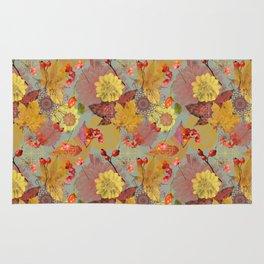 Autumn pattern 3 Rug