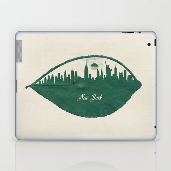 New York Skyline at Sunrise Laptop & iPad Skin