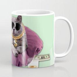 GANGSTA CAT Coffee Mug