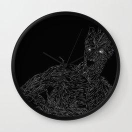 iAmGroot, GuardiansOfTheGalaxy Wall Clock