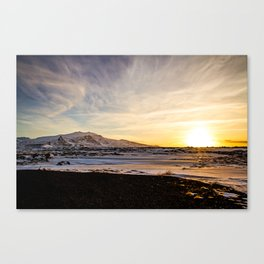 Snaefellsnes- Sunset Canvas Print