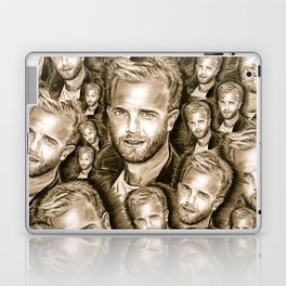 Gary Barlow Laptop & iPad Skin