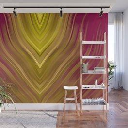 stripes wave pattern 3 ee Wall Mural