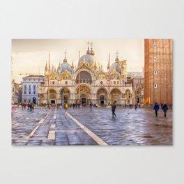 Saint Mark's Basilica, Venice (Italy) Canvas Print