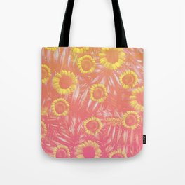 Sunflower Party #4 Tote Bag