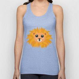 Kawaii lion head T-Shirt for all Ages D9dq4 Unisex Tank Top