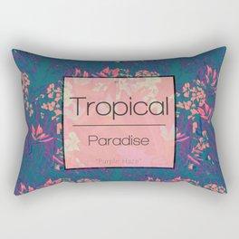 Tropical Paradise: Purple Haze Rectangular Pillow