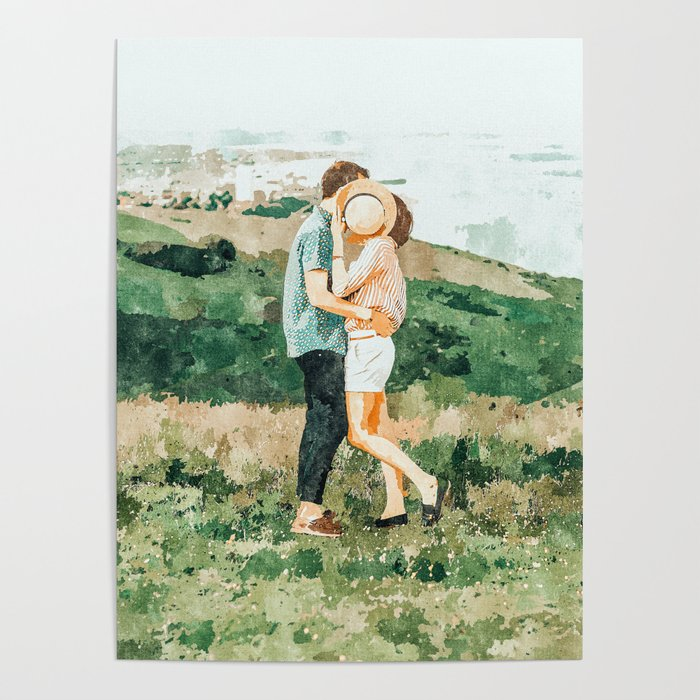 Togetherness #painting Poster