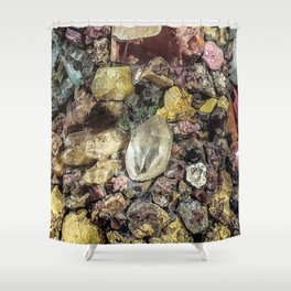 Gems collection 2 Shower Curtain