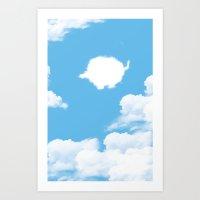 appa Art Prints featuring Appa ?? by Fabio Castro