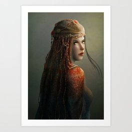Princess from the East Art Print