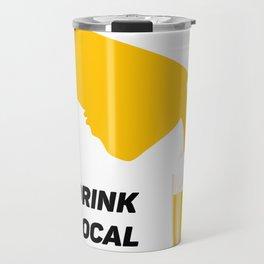 California Drinking Team Beer Lovers Drink Local Travel Mug