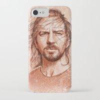 eddie vedder iPhone & iPod Cases featuring Eddie Vedder by Renato Cunha