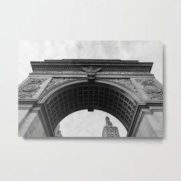 Washington Square Arch II Metal Print
