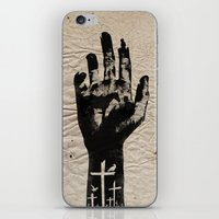 the walking dead iPhone & iPod Skins featuring The Walking Dead by FCRUZ