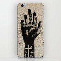 walking dead iPhone & iPod Skins featuring The Walking Dead by FCRUZ