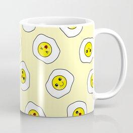 Sunny Side Up Pattern - Yellow Coffee Mug