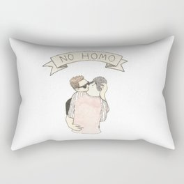NO HOMO Rectangular Pillow