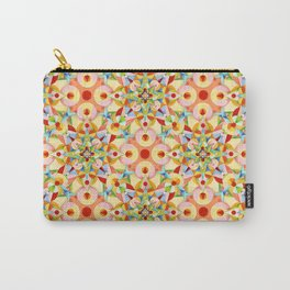 Tangerine Confetti Carry-All Pouch