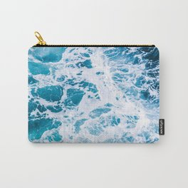 Perfect Ocean Sea Waves Carry-All Pouch