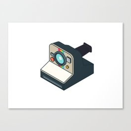 Retro Polaroid Canvas Print