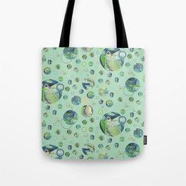 Polka Gravure Tote Bag