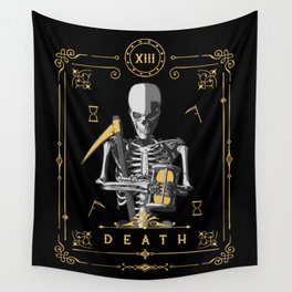 Death XIII Tarot Card Wall Tapestry