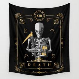 Death XIII Tarot Card Wall Tapestry