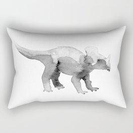 Triceratops. Rectangular Pillow