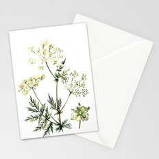 watercolor dill Stationery Cards